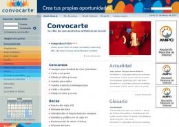Homepage Convocarte