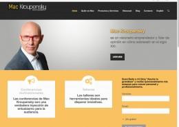 Sitio web Mac Kroupensky